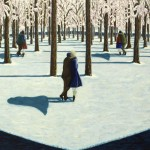'The path', huile sur toile, 113 cm x 73 cm, 2010, collection particulière