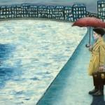 'Just a boy', huile sur toile, 100 cm x 65 cm, 2010