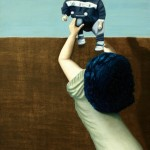 'PSEN1', huile sur toile, bois, 130 cm x 195 cm, 2012