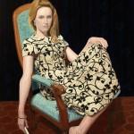 'Dancer in the dark', huile sur toile, 89 x 130 cm, 2011