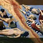 'Après guerre', huile sur toile, 130 cm x 90 cm, 2009, collection particulière