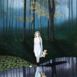 Kisa, huile sur toile, 115 x115 cm, 2020